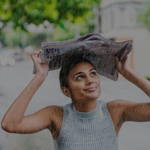 Peinados fáciles para días de lluvia